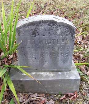 WHITLEY, LEO - Adams County, Ohio | LEO WHITLEY - Ohio Gravestone Photos