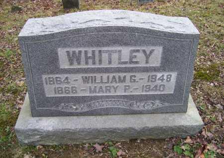 WHITLEY, MARY P. - Adams County, Ohio | MARY P. WHITLEY - Ohio Gravestone Photos