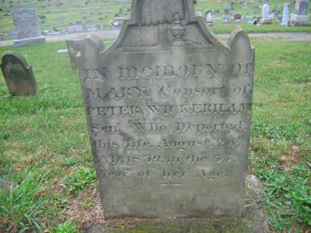 PLATTER WICKERHAM, MARY MAGDALENA - Adams County, Ohio | MARY MAGDALENA PLATTER WICKERHAM - Ohio Gravestone Photos