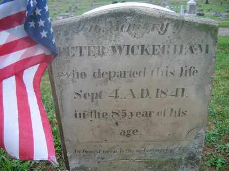 WICKERHAM, PETER - Adams County, Ohio | PETER WICKERHAM - Ohio Gravestone Photos