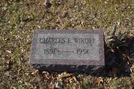 WIKOFF, CHARLES E. - Adams County, Ohio | CHARLES E. WIKOFF - Ohio Gravestone Photos