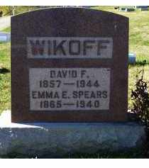 SPEARS WIKOFF, EMMA E. - Adams County, Ohio | EMMA E. SPEARS WIKOFF - Ohio Gravestone Photos