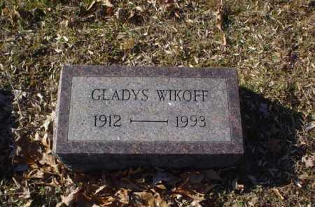 WIKOFF, GLADYS - Adams County, Ohio   GLADYS WIKOFF - Ohio Gravestone Photos
