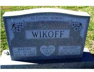 WIKOFF, MARVIN - Adams County, Ohio | MARVIN WIKOFF - Ohio Gravestone Photos