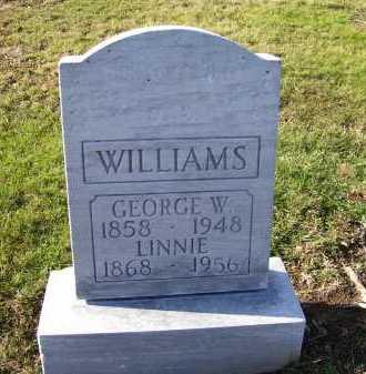 WILLIAMS, GEORGE W. - Adams County, Ohio | GEORGE W. WILLIAMS - Ohio Gravestone Photos