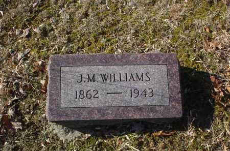 WILLIAMS, J. M. - Adams County, Ohio | J. M. WILLIAMS - Ohio Gravestone Photos