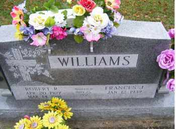 WILLIAMS, FRANCES J. - Adams County, Ohio | FRANCES J. WILLIAMS - Ohio Gravestone Photos