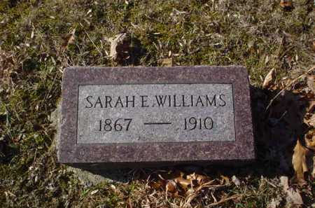 WILLIAMS, SARAH E. - Adams County, Ohio | SARAH E. WILLIAMS - Ohio Gravestone Photos
