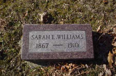 WILLIAMS, SARAH E. - Adams County, Ohio | SARAH E. WILLIAMS - Ohio Gravestone Photos