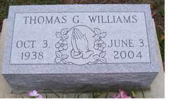 WILLIAMS, THOMAS G. - Adams County, Ohio | THOMAS G. WILLIAMS - Ohio Gravestone Photos