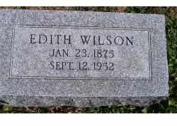 WILSON, EDITH - Adams County, Ohio | EDITH WILSON - Ohio Gravestone Photos