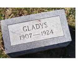 WILSON, GLADYS - Adams County, Ohio   GLADYS WILSON - Ohio Gravestone Photos