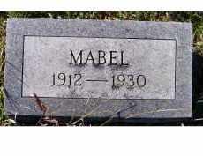 WILSON, MABEL - Adams County, Ohio | MABEL WILSON - Ohio Gravestone Photos