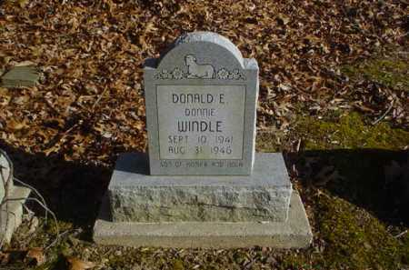 WINDLE, DONALD E. - Adams County, Ohio | DONALD E. WINDLE - Ohio Gravestone Photos