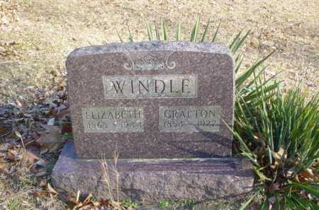 WINDLE, ELIZABETH - Adams County, Ohio | ELIZABETH WINDLE - Ohio Gravestone Photos