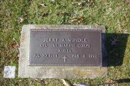 WINDLE, JERRY A. - Adams County, Ohio | JERRY A. WINDLE - Ohio Gravestone Photos