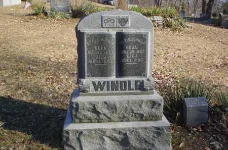 WINDLE, S.E. - Adams County, Ohio | S.E. WINDLE - Ohio Gravestone Photos