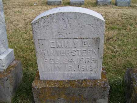 WINTERSTEEN, EMILY E. - Adams County, Ohio | EMILY E. WINTERSTEEN - Ohio Gravestone Photos