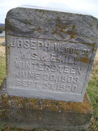 WINTERSTEEN, JOSEPH W. - Adams County, Ohio | JOSEPH W. WINTERSTEEN - Ohio Gravestone Photos