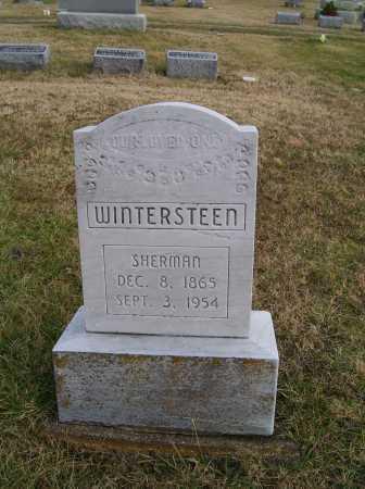 WINTERSTEEN, SHERMAN - Adams County, Ohio | SHERMAN WINTERSTEEN - Ohio Gravestone Photos