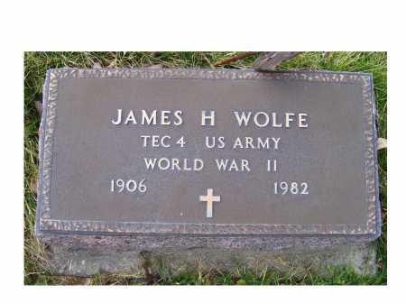 WOLFE, JAMES H. - Adams County, Ohio   JAMES H. WOLFE - Ohio Gravestone Photos