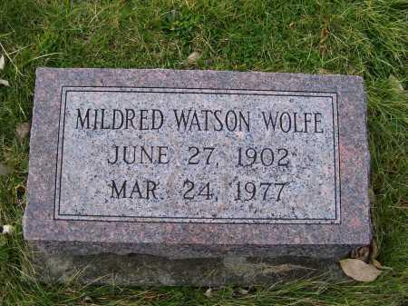 WOLFE, MILDRED - Adams County, Ohio | MILDRED WOLFE - Ohio Gravestone Photos