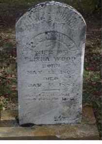 CAMPBELL WOOD, HANNAH - Adams County, Ohio | HANNAH CAMPBELL WOOD - Ohio Gravestone Photos