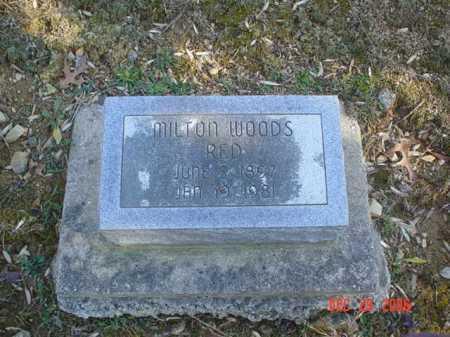 WOODS, MILTON - Adams County, Ohio   MILTON WOODS - Ohio Gravestone Photos
