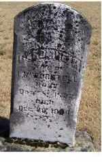 WORSTELL, CAROLINE M. - Adams County, Ohio   CAROLINE M. WORSTELL - Ohio Gravestone Photos