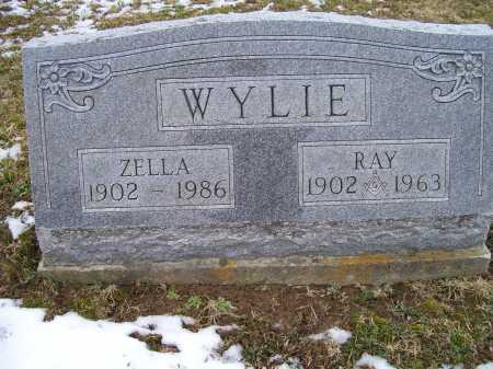 WYLIE, ZELLA - Adams County, Ohio | ZELLA WYLIE - Ohio Gravestone Photos