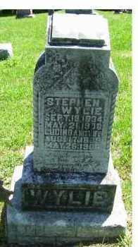 WYLIE, STEPHEN - Adams County, Ohio | STEPHEN WYLIE - Ohio Gravestone Photos