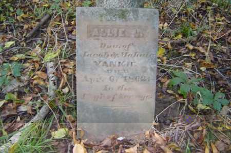 YANKIE, ALLIE L. - Adams County, Ohio | ALLIE L. YANKIE - Ohio Gravestone Photos