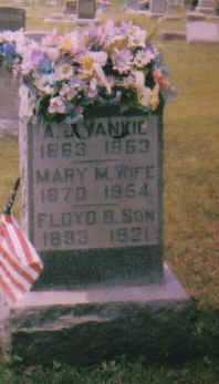 DOUGLAS YANKIE, MARY M. - Adams County, Ohio | MARY M. DOUGLAS YANKIE - Ohio Gravestone Photos