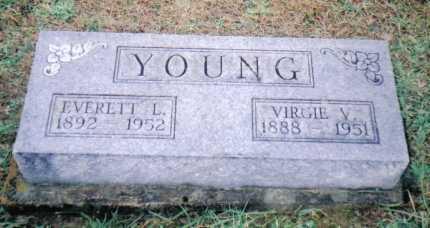 YOUNG, VIRGIE V. - Adams County, Ohio   VIRGIE V. YOUNG - Ohio Gravestone Photos