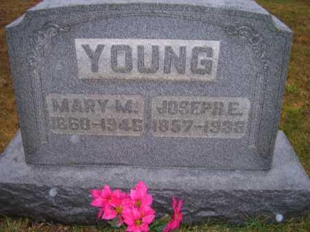 YOUNG, JOSEPH E. - Adams County, Ohio | JOSEPH E. YOUNG - Ohio Gravestone Photos