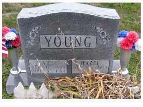 YOUNG, LARUE - Adams County, Ohio   LARUE YOUNG - Ohio Gravestone Photos