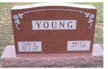 YOUNG, LEWIS M. - Adams County, Ohio | LEWIS M. YOUNG - Ohio Gravestone Photos