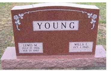 YOUNG, WILLA L. - Adams County, Ohio | WILLA L. YOUNG - Ohio Gravestone Photos