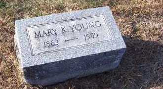 KENDALL YOUNG, MARY - Adams County, Ohio | MARY KENDALL YOUNG - Ohio Gravestone Photos