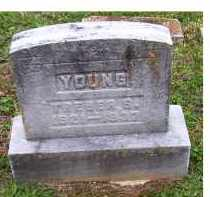 YOUNG, TREBER S. - Adams County, Ohio | TREBER S. YOUNG - Ohio Gravestone Photos