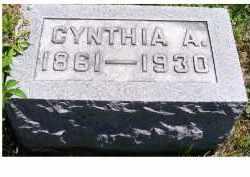 MCCANN, CYNTHIA A. - Adams County, Ohio | CYNTHIA A. MCCANN - Ohio Gravestone Photos
