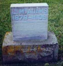 ADAMS, LEWIS - Allen County, Ohio   LEWIS ADAMS - Ohio Gravestone Photos