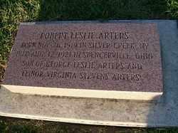 ARTERS, ROBERT LESLIE - Allen County, Ohio | ROBERT LESLIE ARTERS - Ohio Gravestone Photos