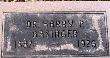 BASINGER, HARRY P. - Allen County, Ohio | HARRY P. BASINGER - Ohio Gravestone Photos