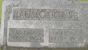 BAUMGARTNER, ALBERT - Allen County, Ohio   ALBERT BAUMGARTNER - Ohio Gravestone Photos