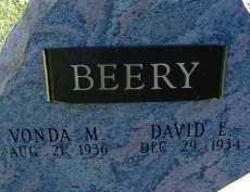 BEERY, DAVID E. - Allen County, Ohio | DAVID E. BEERY - Ohio Gravestone Photos