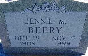BEERY, JENNIE M. - Allen County, Ohio   JENNIE M. BEERY - Ohio Gravestone Photos