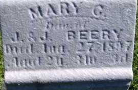 BEERY, MARY G. - Allen County, Ohio | MARY G. BEERY - Ohio Gravestone Photos
