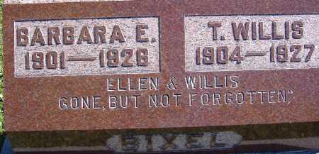 BIXEL, T. WILLIS - Allen County, Ohio | T. WILLIS BIXEL - Ohio Gravestone Photos