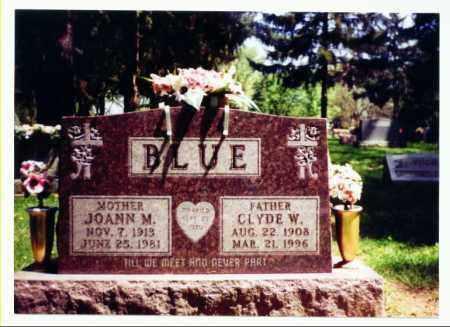 ADAMS BLUE, JOANN - Allen County, Ohio | JOANN ADAMS BLUE - Ohio Gravestone Photos